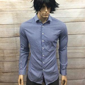 Men's Goodfellow & Co. Gingham Print Shirt Sz L